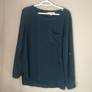 LOFT Emerald Blouse